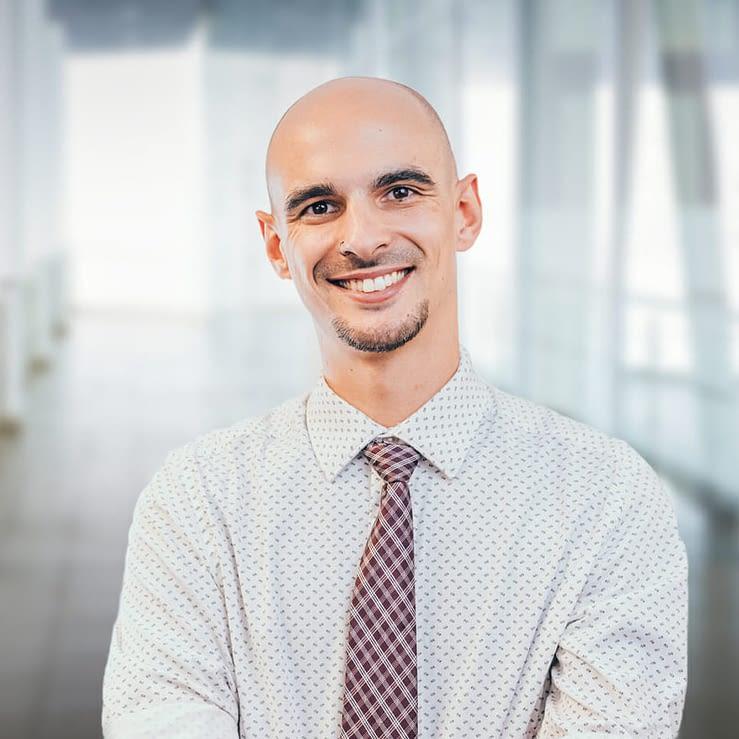 Nick Freeman, Corporate Director of Digital Strategy Headshot